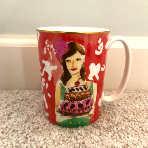 NWOT KATE SPADE & LENOX 'JUST DESSERTS' COFFEE MUG